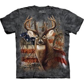 Patriotic Buck Adult