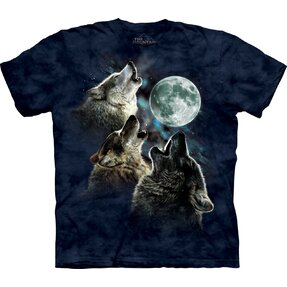 3 Wolf Moon Blue Adult