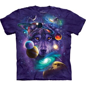 Tricou Wolf of the Cosmos