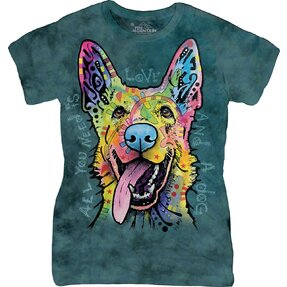 Tricou damă Love Shepherd Dog