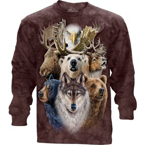 Northern Wildlife LS T Shirt